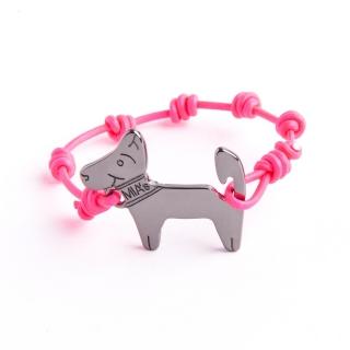 【ミアズ】MIA's DOG! ピンクブラック