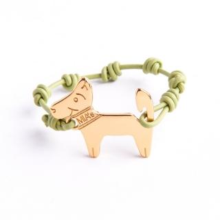 【ミアズ】MIA's DOG! オリーブグリーンゴールド
