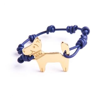 【ミアズ】MIA's DOG! ダークブルーゴールド