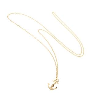 【ミアズ】MIA's Luxury Anchor ゴールドネックレス