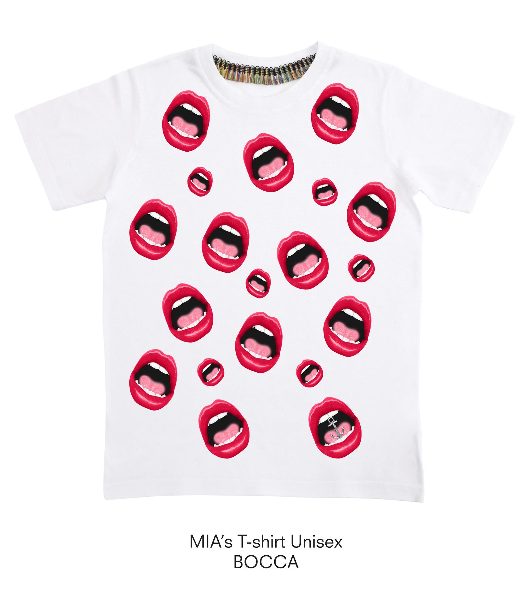 【ミアズ】MIA's T-shirt BOCCA