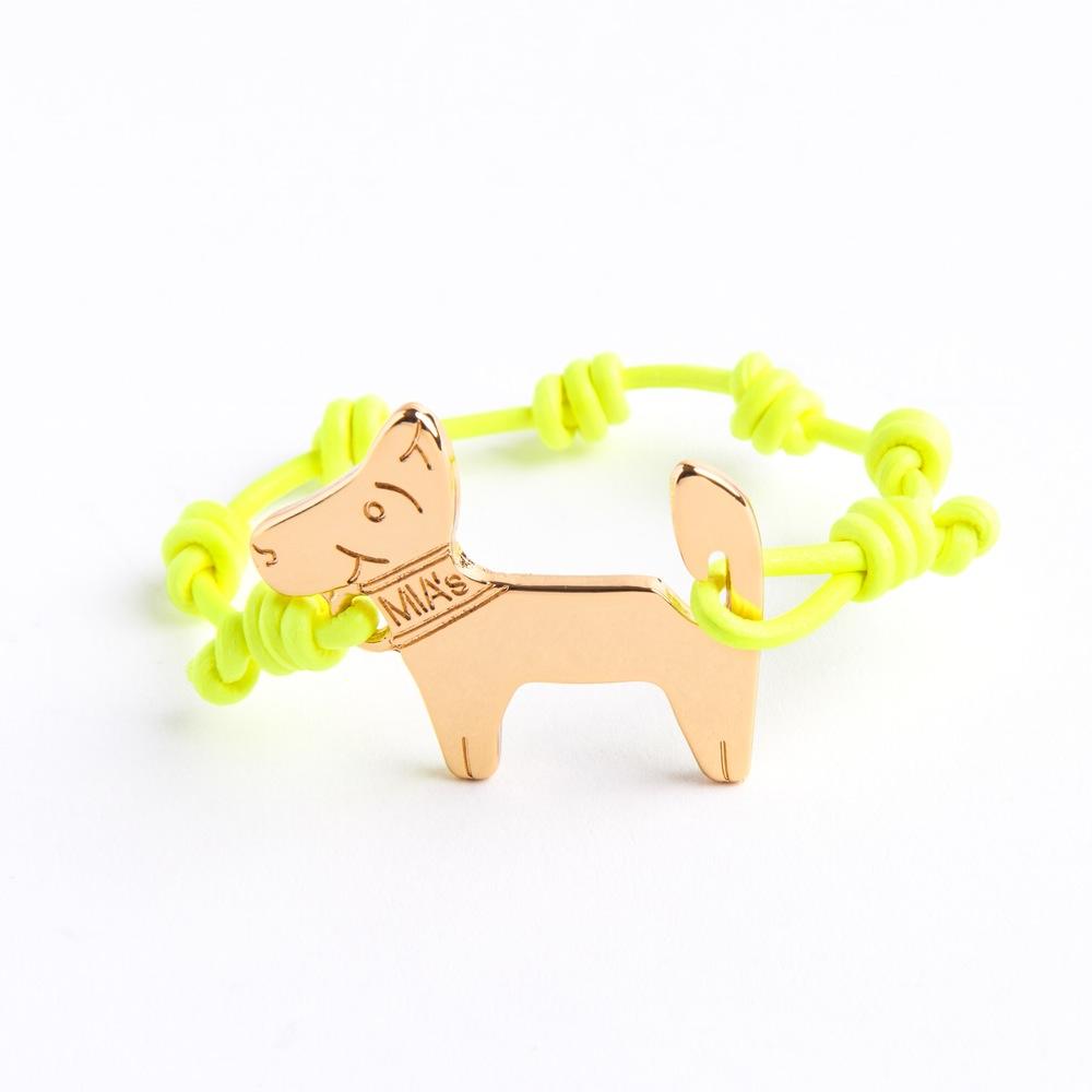 【ミアズ】MIA's DOG! イエローゴールド